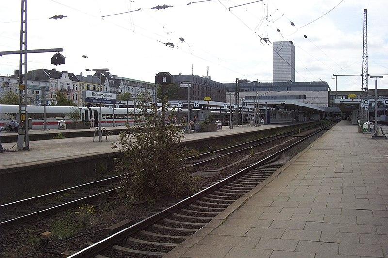 hamburg hauptbahnhof gleise