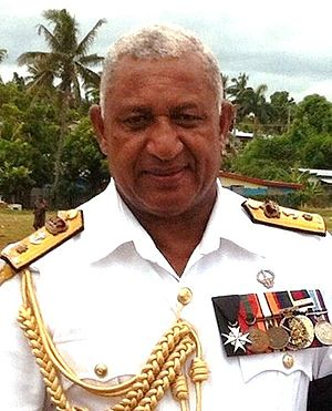 President of Fiji - Image: Bainimarama 2014