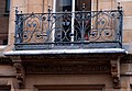 Balcony ironwork, Belfast - geograph.org.uk - 1541691.jpg