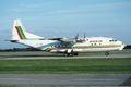 Balkan Bulgarian Airlines An-12B LZ-BAF LUX May 1998.png