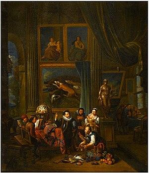 Balthasar van den Bossche - A nobleman's picture gallery