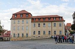Bamberg, Domplatz 1, von Nordwesten, 20150918, 001