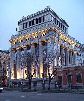 Caryatid Building - Image: Banco Español del Río de la Plata (Madrid) 06