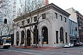 Bank of California Building in Portland Oregon with MAX train Dec 2013.jpg