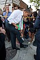 Barack Obama wipes yoghurt off his trousers.jpg