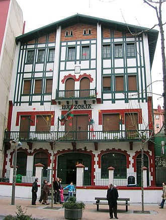 Basque Nationalist Party - Image: Barakaldoko Batzoki zarra