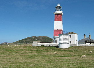 Bardsey Island - Bardsey Lighthouse