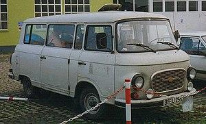 Barkas (van manufacturer) - Image: Barkas B 1000