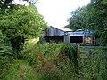 Barn and bridleway, East Allington - geograph.org.uk - 211087.jpg