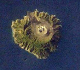 Andaman and Nicobar Islands - Barren Island in the Andaman Islands