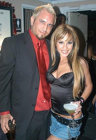 Barrett Blade - Barett Blade with Kirsten Price in 2005