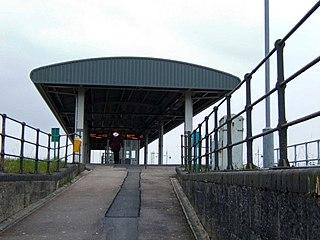 Barry Docks railway station