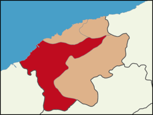 Bartın - Location of Bartın District in Bartın Province