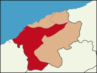 Bartın - Location of Bartın District in Bartın Province