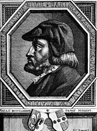 Welser - Bartholomeus V. Welser, engraving by Georg Christoph Eimmart