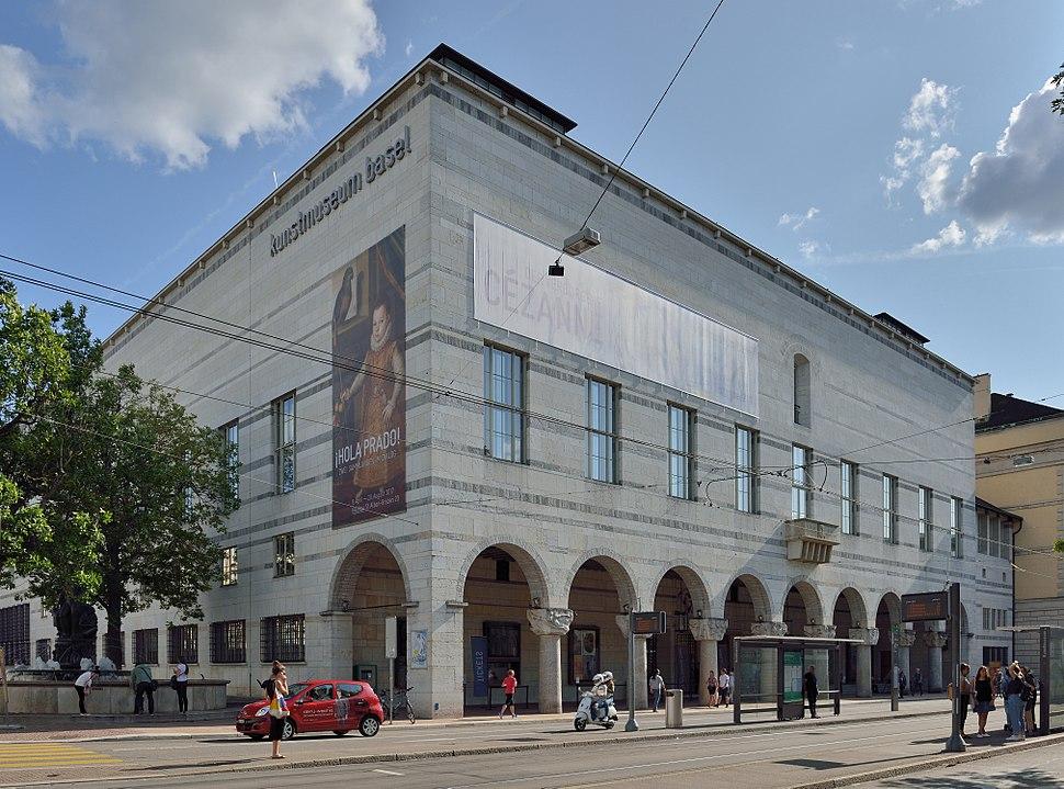 Basel - 2017 - Kunstmuseum Basel - Altbau