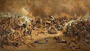 20th Hussars - The Battle of Tofrek, at which the 20th Hussars were present, March 1885