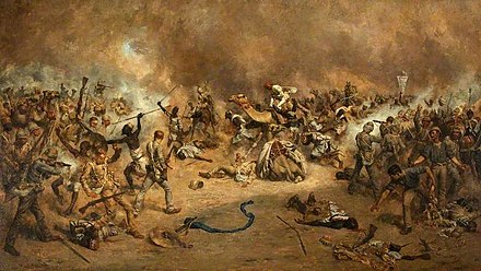 The Battle of Tofrek, at which the 20th Hussars were present, March 1885