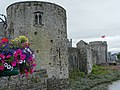 Battlements of King John's Castle - Limerick - Ireland (42816956214).jpg