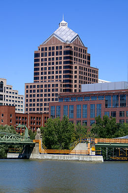 Bausch & Lomb Place, World Headquarters Building, Rochester, New York.jpg