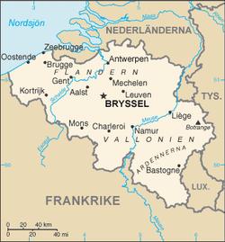 karta belgien Belgien – Wikipedia karta belgien