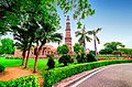 Beautiful evening blues at Qutub Minar.jpg