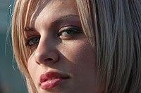 Beautiful lips and eyes - 4tuning car exhibition Bucharest, Romania.jpg