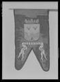 Begravningsfana, Kexholm, förd i Karl X Gustavs begravningståg 1660 - Livrustkammaren - 61780.tif