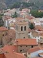 Bejís. Iglesia de Nuestra Señora de los Ángeles. Torre desde el castillo.jpg