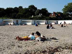 Bellevue Beach - Image: Bellevue Beach cph