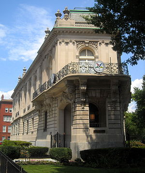 Perry Belmont - Belmont's former residence in Washington, D.C.