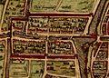 Bemuurde Weerd in 1572 map in Braun and Hogenberg book Civitates Orbis Terrarum.jpg