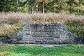 Bergen-Belsen concentration camp memorial - mass grave No 1 - 02.jpg