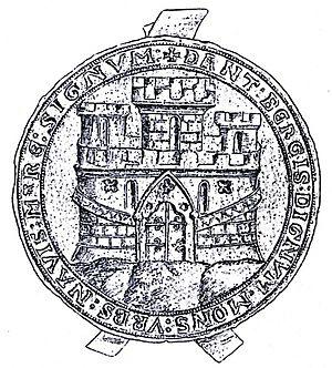 Sacking of Bergen (1393) - Image: Bergens Byvåpen 2 1299