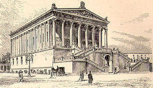 Alte Nationalgalerie - Picture of the Alte Nationalgalerie from Heinrich August Pierer's Universal-Lexikon, 1891.
