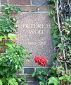 Berlin Friedrichsfelde Zentralfriedhof, Gedenkstätte der Sozialisten (Urnenwand) - Wolf, Friedrich.jpg