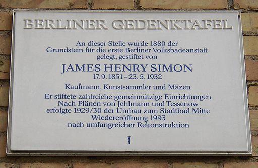 Berlin GTafel JH Simon