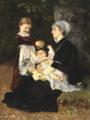 Bertha Wegmann - En Ammes Besøg - 1878.png