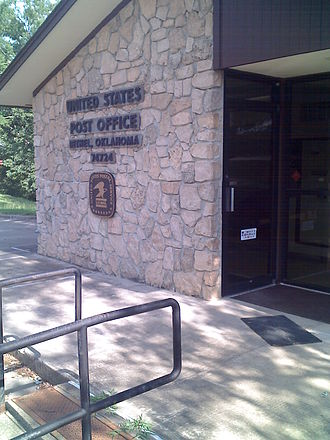Bethel, McCurtain County, Oklahoma - Bethel Post Office on 7/21/2009.