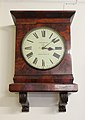 Bevan clock in Quaker Meeting House, Claughton.jpg