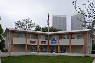 Beverly Hills Unified School District - Beverly Hills Unified School District building in 2015.
