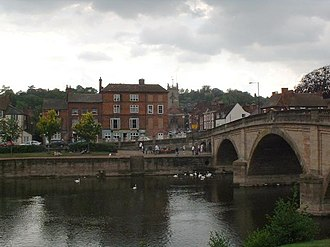Bewdley - Bewdley bridge and Severn Side South, 2003