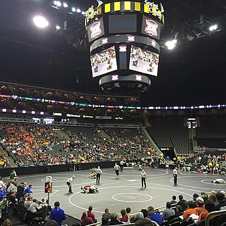 Sprint Center - Image: Big 12 Wrestling Championship