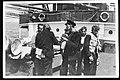 Bijschrift Survivors of the torpedoed vessel overlevenden van het getorperde, Bestanddeelnr 935-3130.jpg