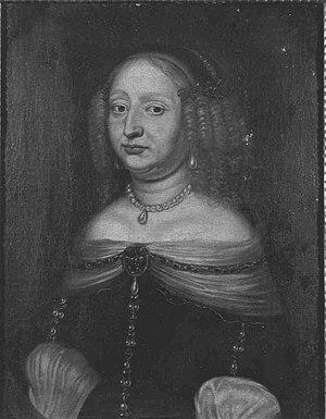 Sophia Eleonore of Saxony - Image: Bildnis der Sophie Eleonore von Sachsen, Landgräfin von Hessen Darmstadt, Gemahlin des Landgrafen Georg II. (1609 1671)