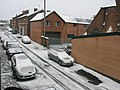 Billington Street East, Wesham in snow - geograph.org.uk - 355740.jpg