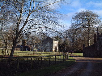 Bindon Abbey - Bindon Abbey House, late 18th century
