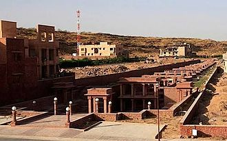 Stepwell - Birkha Bawari, view of a stepwell at Jodhpur