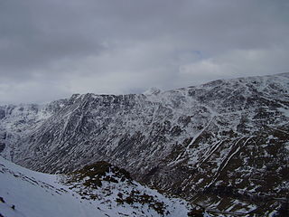 Birkhouse Moor mountain in United Kingdom