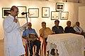 Biswatosh Sengupta Addresses - Group Exhibition Inauguration - PAD - Kolkata 2016-07-29 5242.JPG